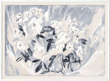Picture of Floral Gesture in Delft II - Large
