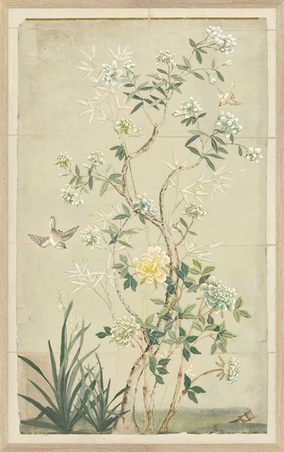 Picture of Chinoiserie Scenic II - Small
