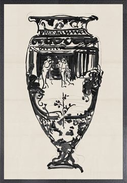 Picture of Cheret Vase II - Large