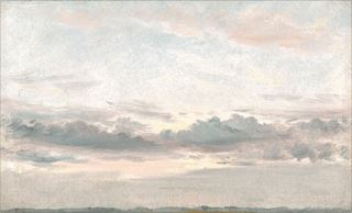 Picture of Sunset Study C. 1821 - Gallery Wrap Canvas