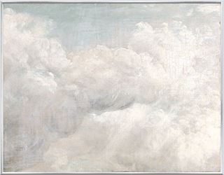 Picture of Constable Cloud Study II C. 1821 - Framed Canvas