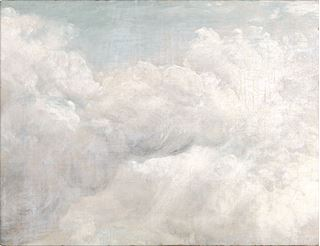 Picture of Constable Cloud Study II C. 1821 - Gallery Wrap Canvas