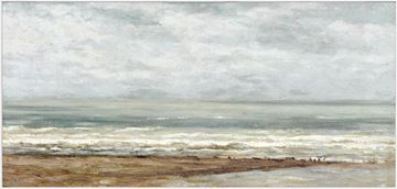 Picture of Seascape Near Heijst - Framed Canvas