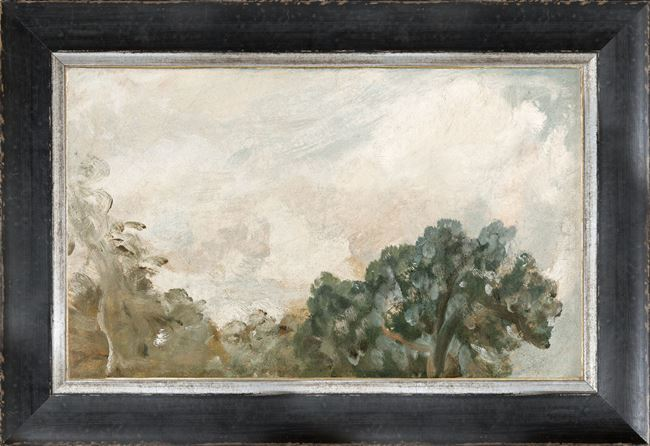 Picture of Petite Scapes - Cloud Study with Trees C. 1821