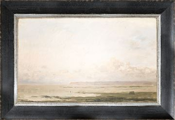 Picture of Petite Scapes - Beach at Ebb Tide C. 1850