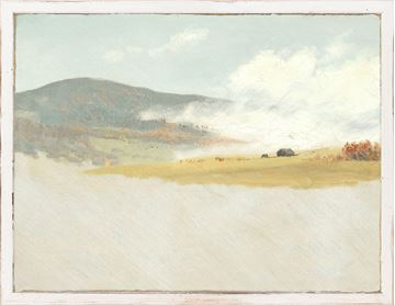 Picture of Petite Scapes - Hilly Landscape C. 1865-75