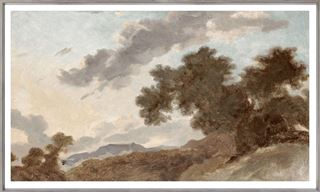 Picture of Mountain Landscape at Sunset C. 1765