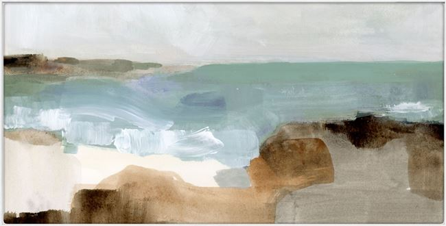 Picture of Ocean Sigh III - Framed Canvas