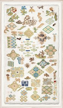 Picture of Embroidery Sampler, Circa 18th C. I