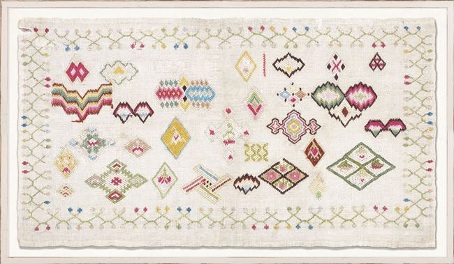 Picture of Embroidery Sampler, Circa 18th C. IV