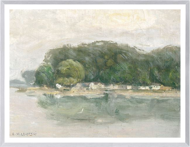 Picture of Bank on the Danube C. 1900