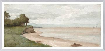 Picture of Beach Near Etretat C. 1872