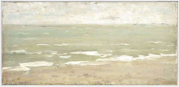 Picture of Seascape I C. 1860 - Framed Canvas