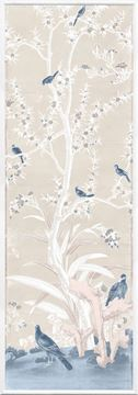 Picture of Chinoiserie Panel III C. 1890 - Pastel - Small