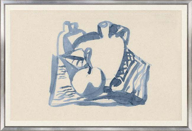 Picture of Collection Vintage - Still Life of Apple & Jug, 1836 - Large