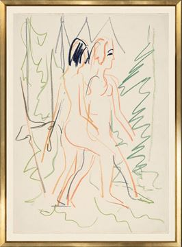 Picture of Collection Vintage - Two Nudes in a Forest, 1925 - Large