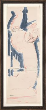 Picture of Collection Vintage - Caryatid in Rose and Blue, 1913