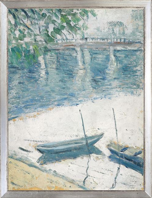 Picture of Collection Vintage - Morning on the Seine, 1921 - Small