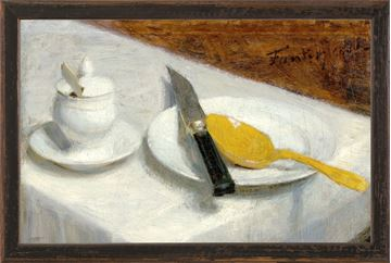 Picture of Collection Vintage - Still Life with Mustard Pot, 1860 - Small