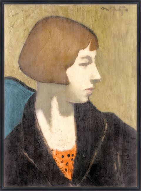 Picture of Collection Vintage - Woman in Black Jacket, 1917 - Large