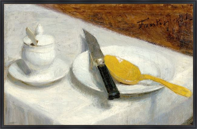 Picture of Collection Vintage - Still Life with Mustard Pot, 1860 - Large
