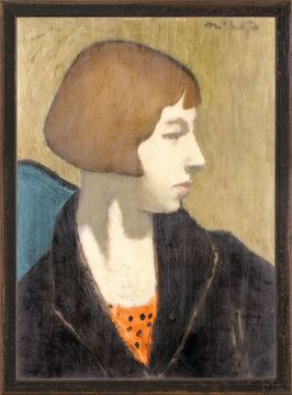 Picture of Collection Vintage - Woman in Black Jacket, 1917 - Small