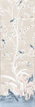 Picture of Chinoiserie Panel III C. 1890 - Pastel - Gallery Wrap Canvas