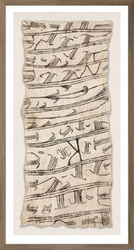 Picture of Bark Cloth III - Natural