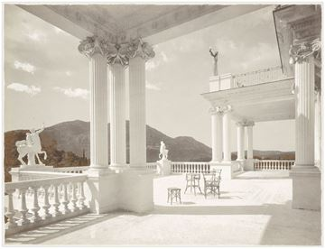 Picture of Palace Achilleion Corfu C. 1895 - Gallery Wrap Canvas